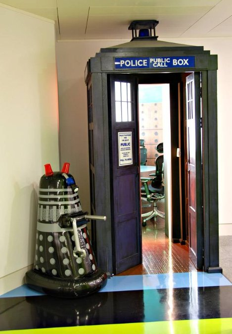Mintel office Tardis in Londen
