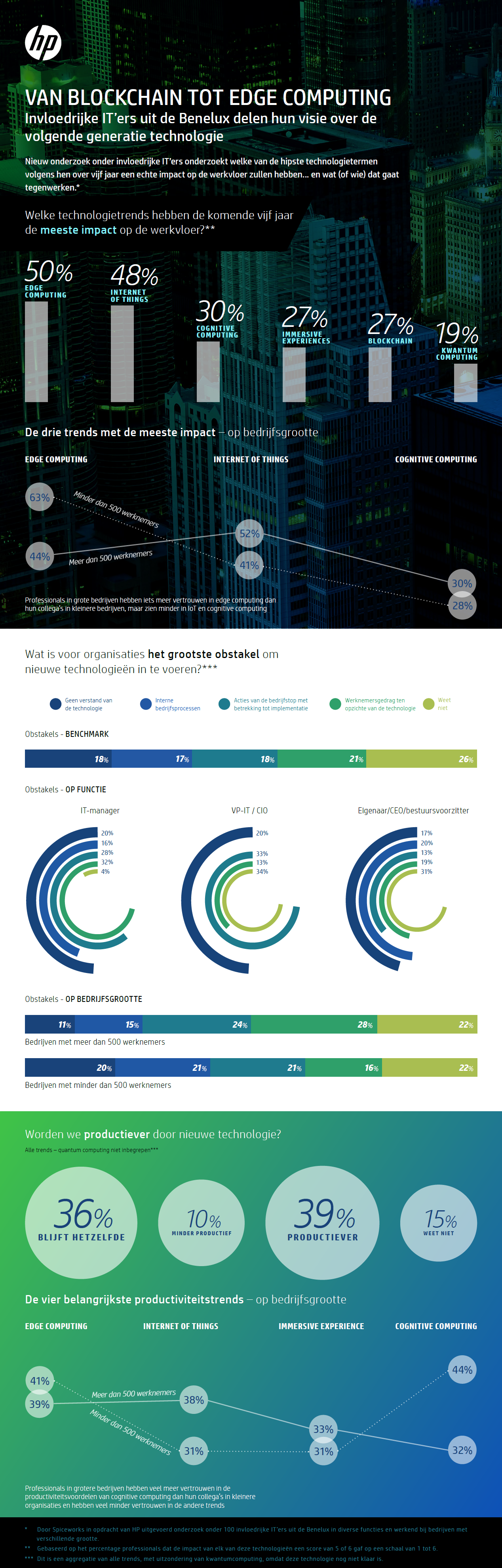 infographic IT-trends Benelux 2020